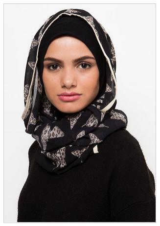 Hijab Wanita modern