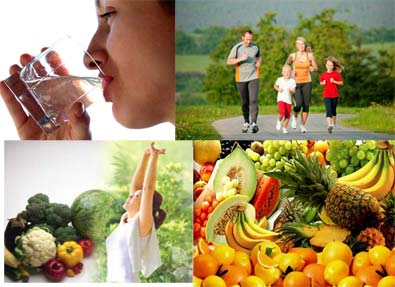 Tips Awet Muda Dengan Pola Hidup Sehat