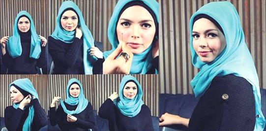 Tampil Cantik Dengan Jilbab Segi Empat Yang Praktis Dan Modis