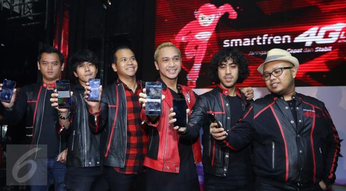 Smartfren 4G Hadir Dengan Di Dampingi Band Nidji